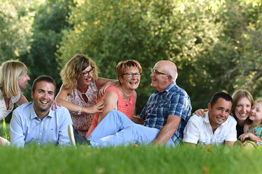 Marie Photographe : famille complete